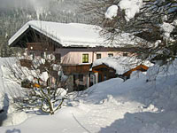 Appartementhaus Althuber im Winter